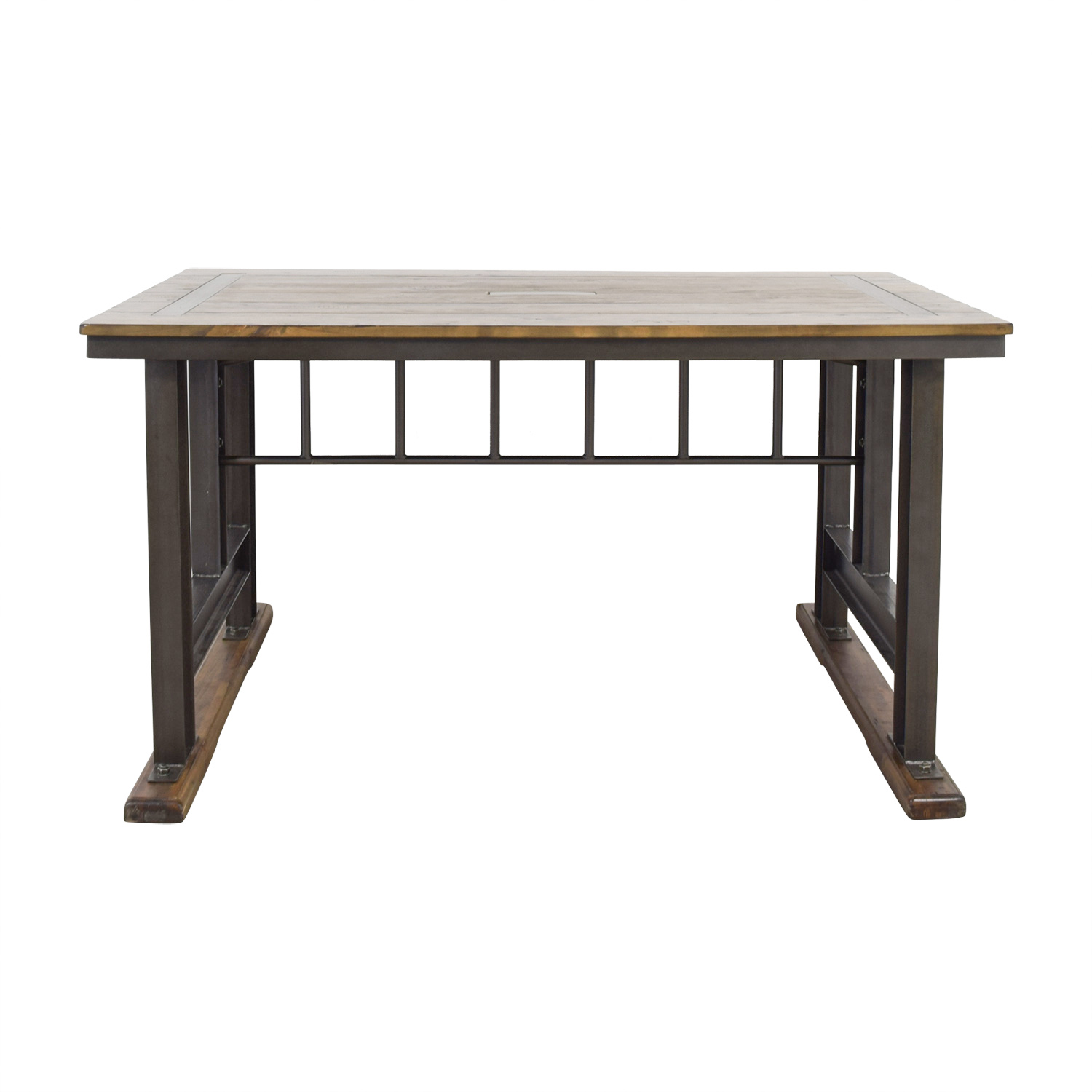 World Market Galvin Cafeteria Table Used