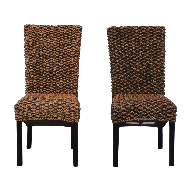 buy Beachcrest Home Anaya Wicker Dining Chairs Beachcrest Home Chairs
