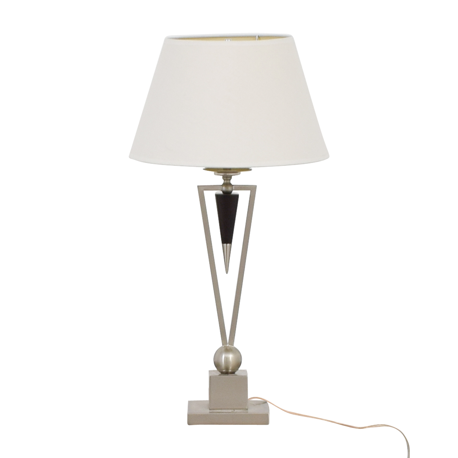 buy Raymour & Flanigan Triangular Table Lamp Raymour & Flanigan Lamps