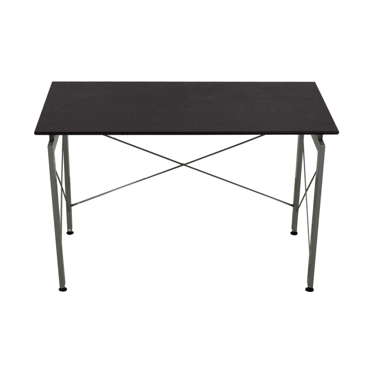 Metal and Wood Desk second hand