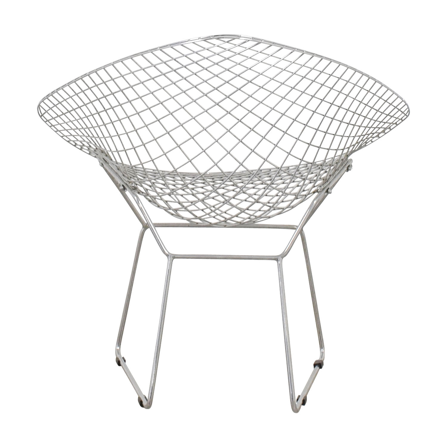 shop Bertoia Style Metal Chair  Accent Chairs