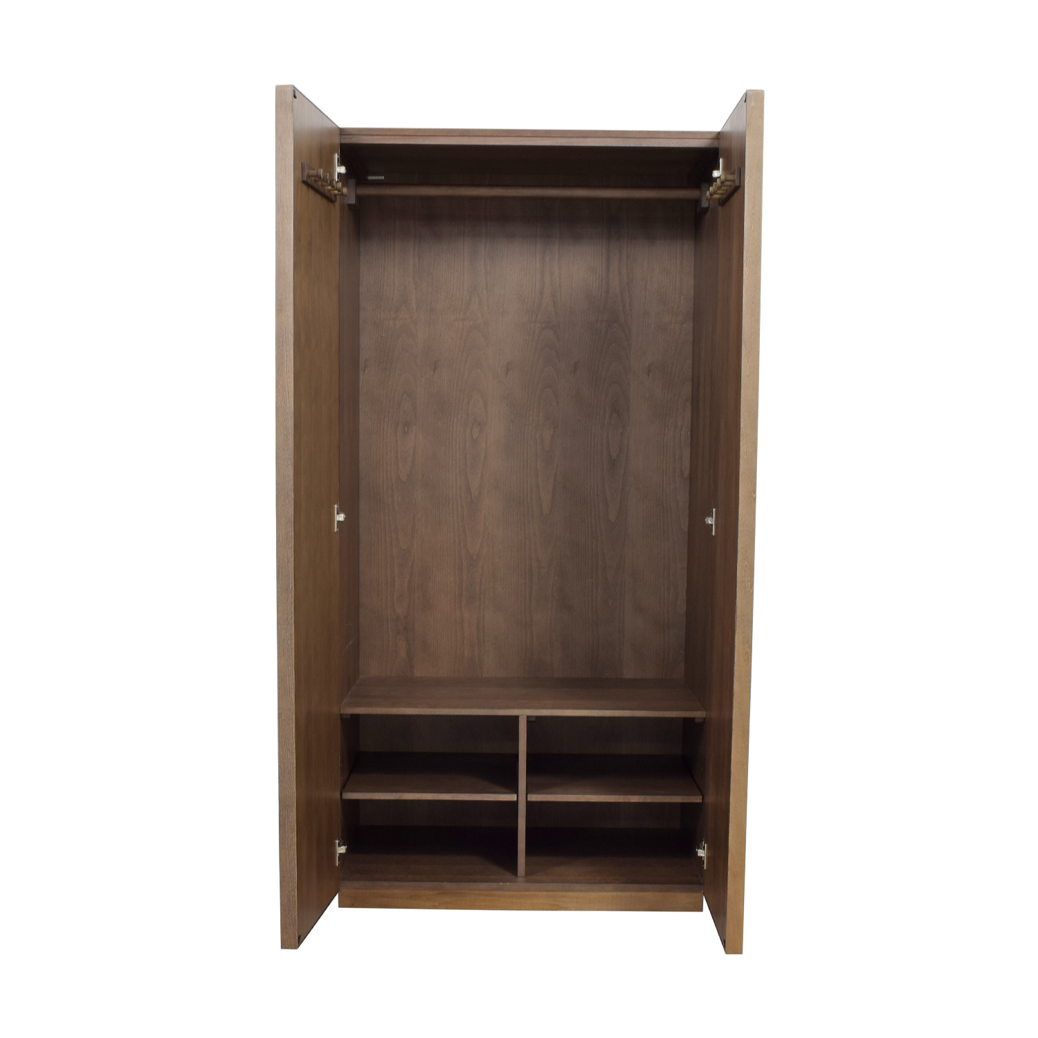 CB2 CB2 Mirrored Armoire with Shelves on sale