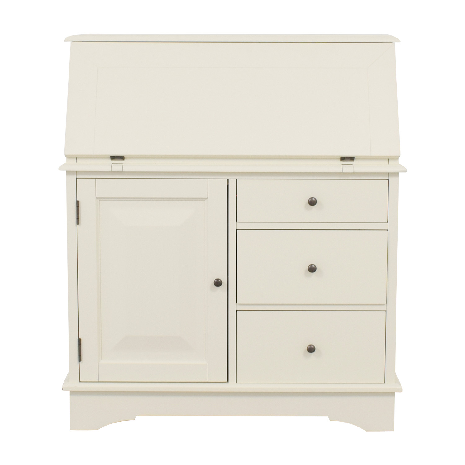 Pottery Barn Pottery Barn Antique White Graham Secretary Desk used