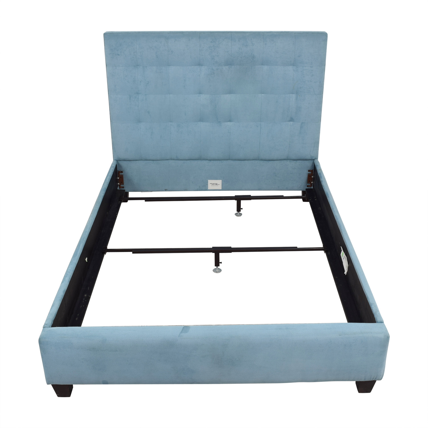 Mitchell Gold + Bob Williams Mitchell Gold + Bob Williams Butler Teal Queen Floating Rail Bed Frame price