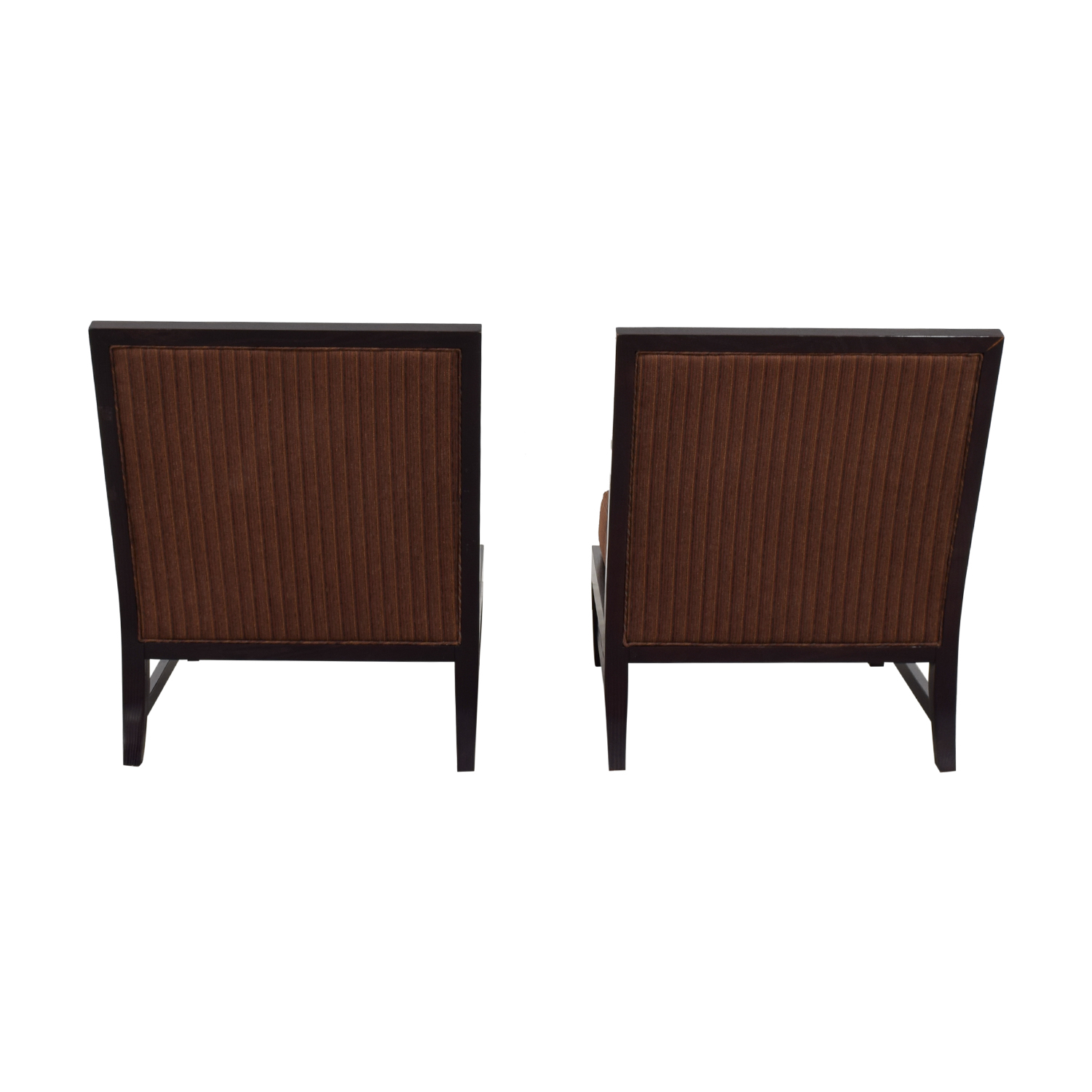 Vanguard Furniture Brown Upholstered Side Chairs / Accent Chairs