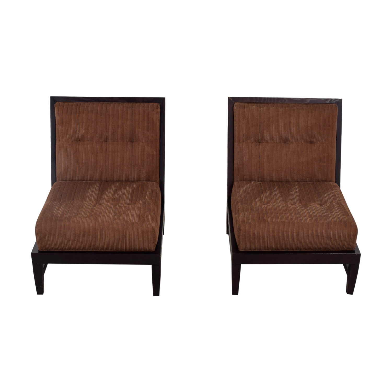 Ordinaire ... Vanguard Furniture Vanguard Furniture Brown Upholstered Side Chairs  Discount ...