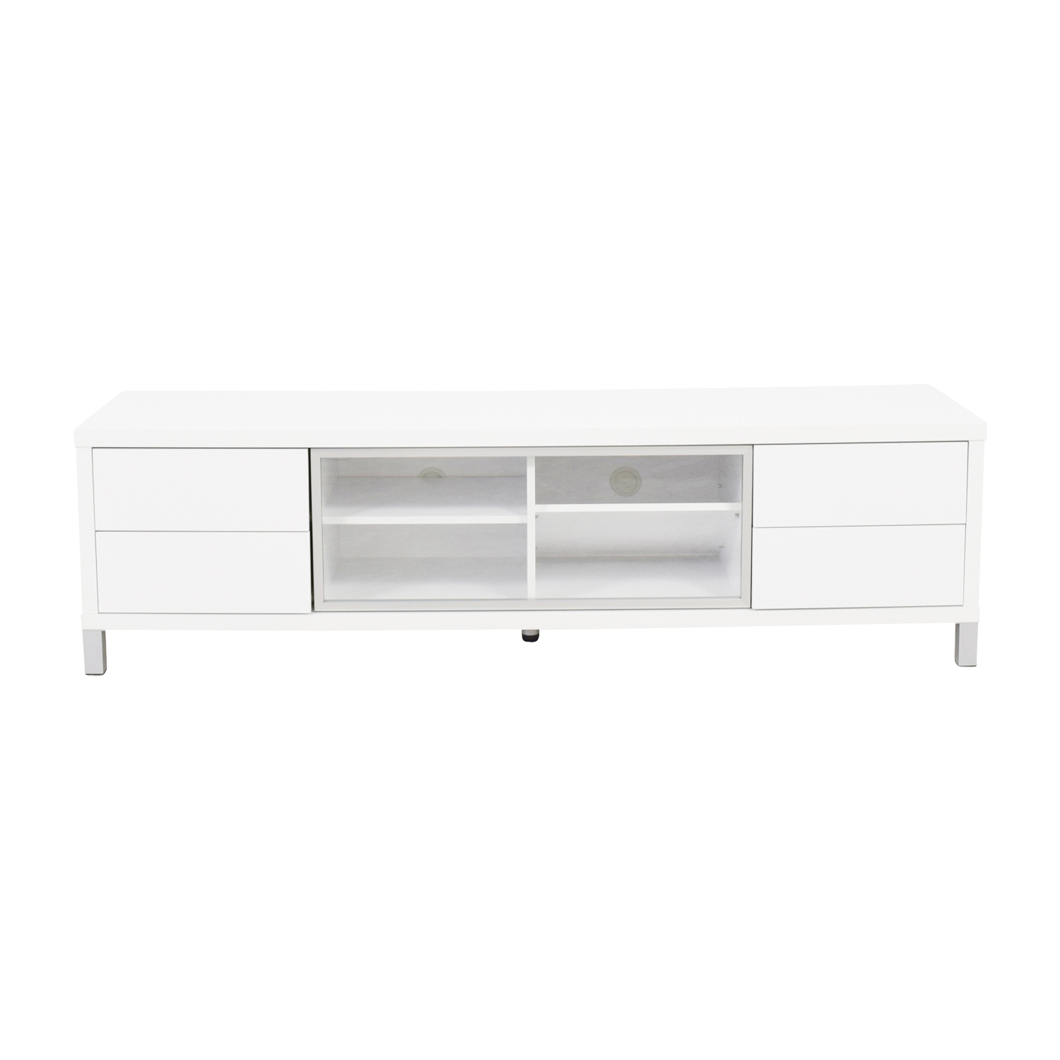 Monarch Monarch Specialties White TV Console Sofas