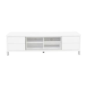 Monarch Furniture Monarch Specialties White TV Console price