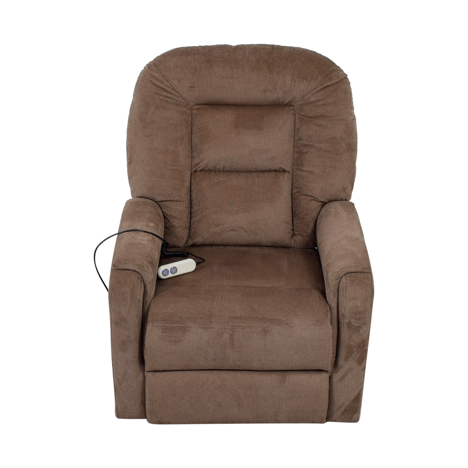 buy Taupe Lift to Standing Position Recliner Chair