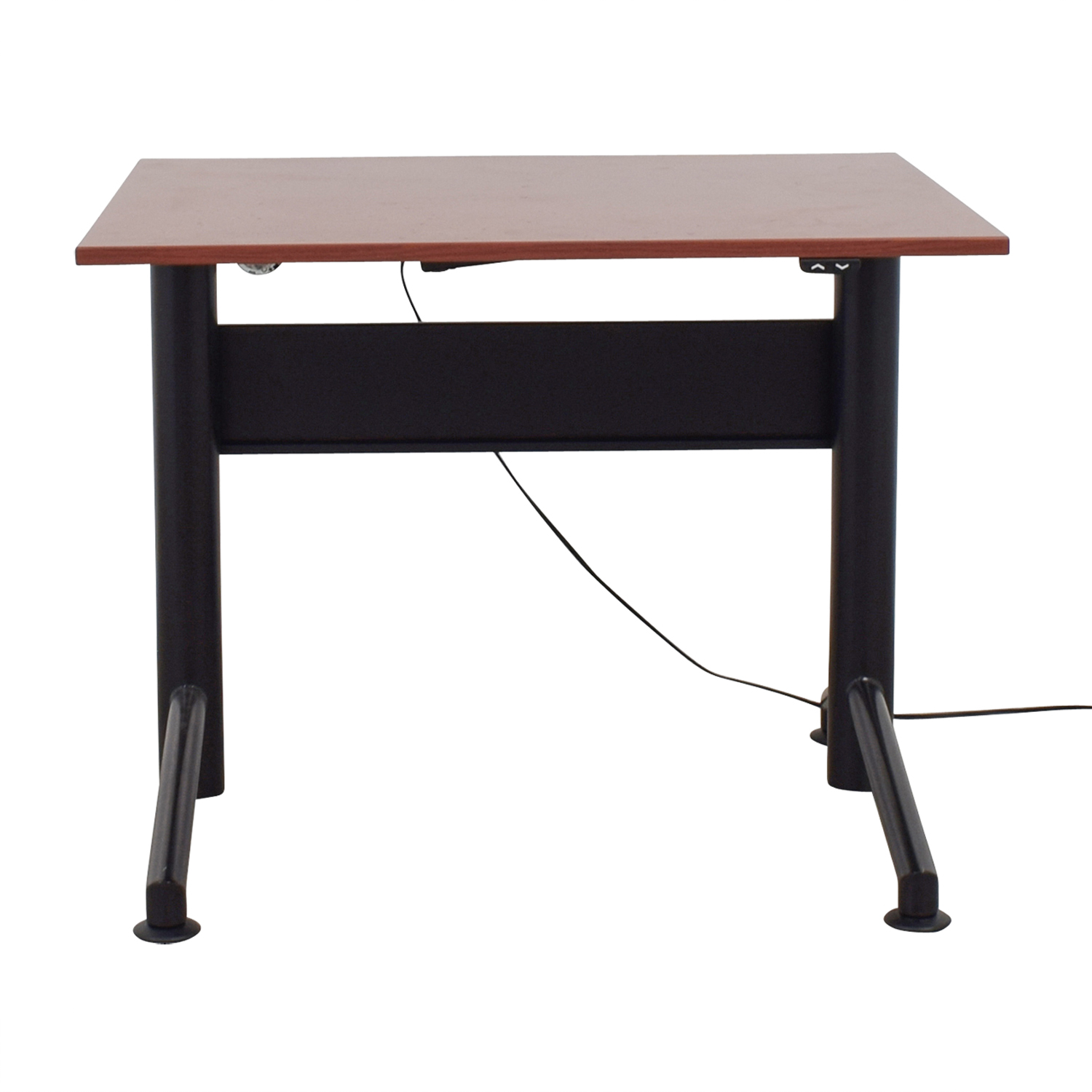 Cherrywood Electric Standing Desk dimensions