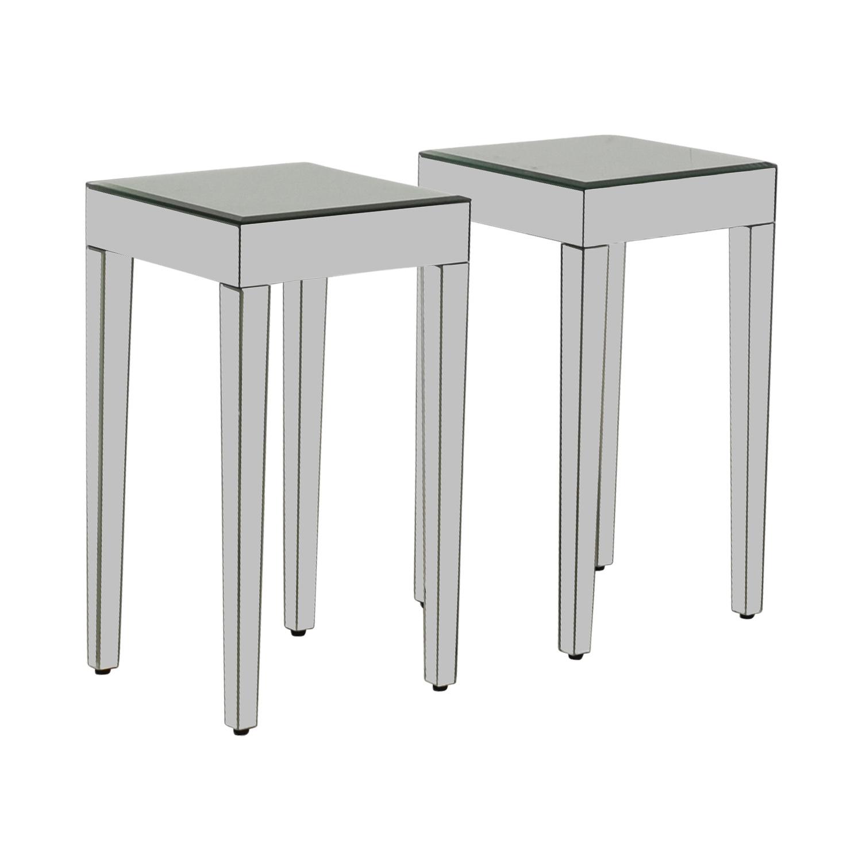 Wondrous 73 Off Target Target Mirrored Side Tables Tables Inzonedesignstudio Interior Chair Design Inzonedesignstudiocom