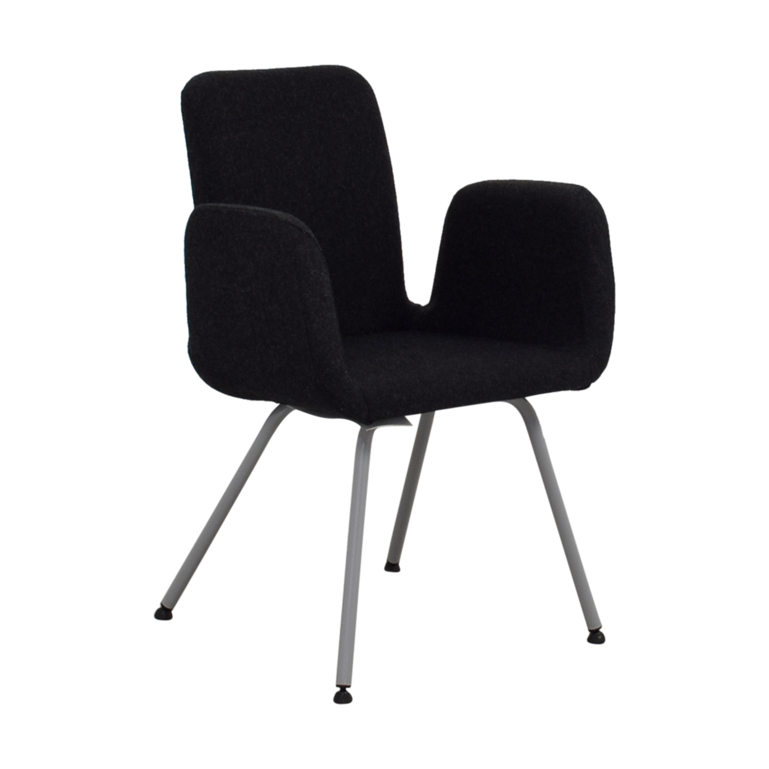 71 Off Ikea Ikea Patrick Black Accent Chair Chairs