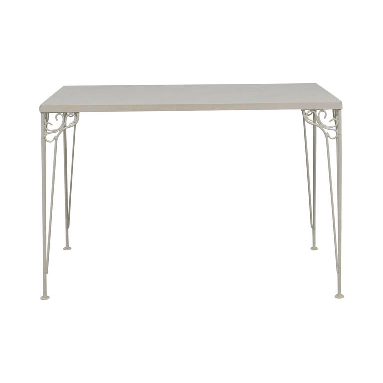 IKEA IKEA White Filigree Legged Desk coupon