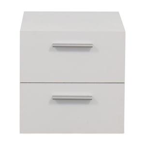 White Two Drawer Nightstand price