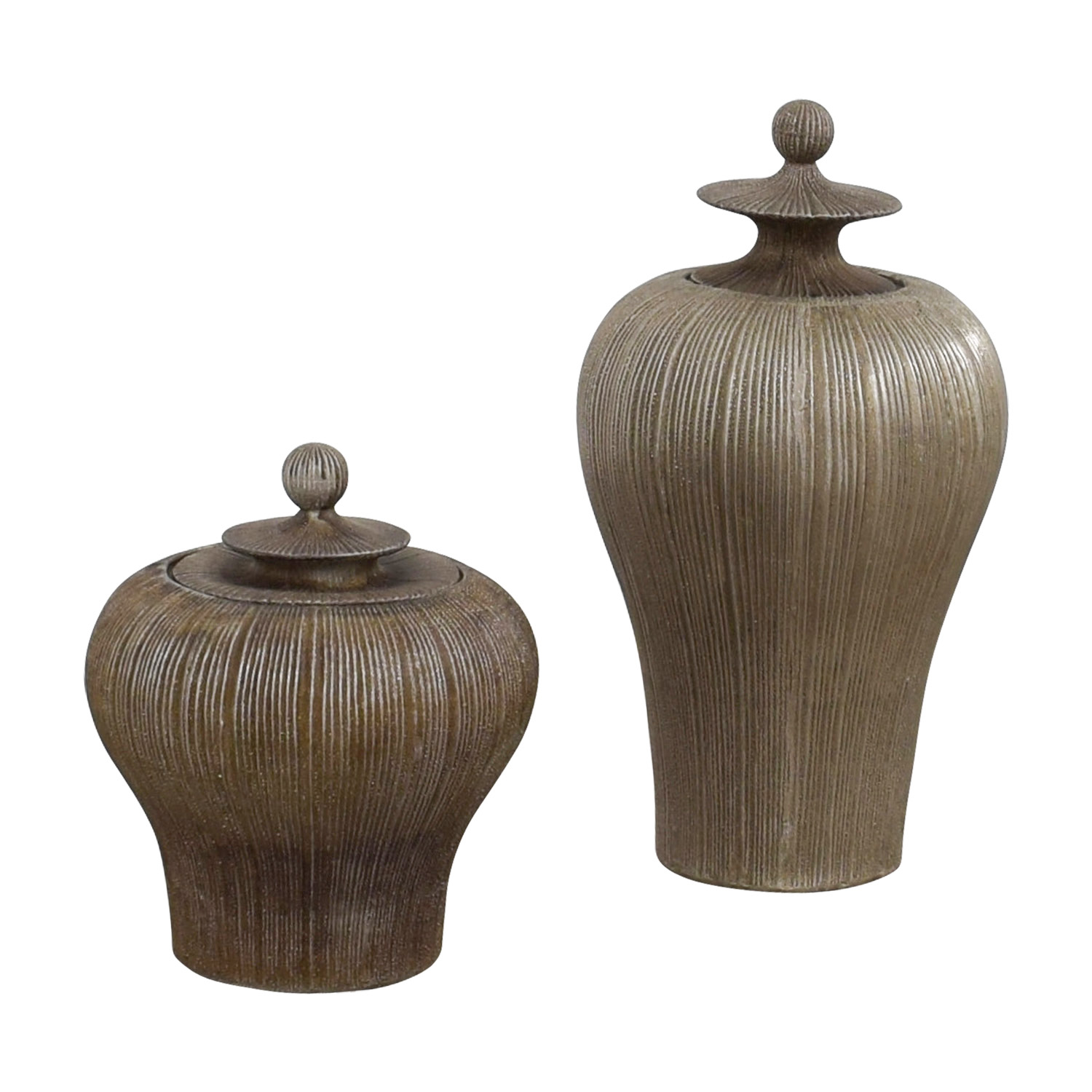 Dark Gold Urns sale