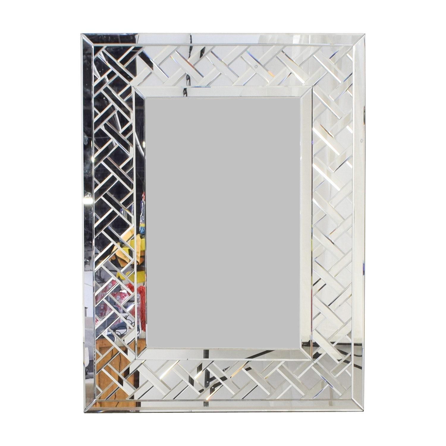 Uttermost Uttermost Picket Fence Border Wall Mirror second hand