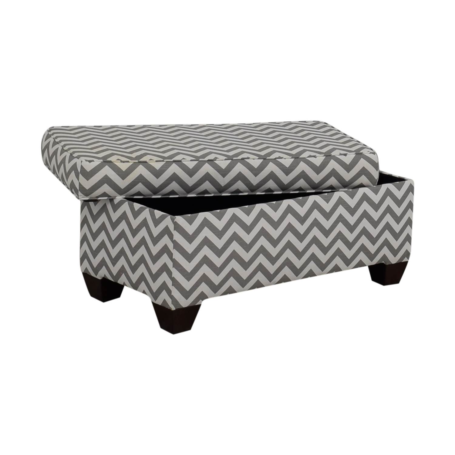 90 Off Target Target Grey And White Storage Bench Or