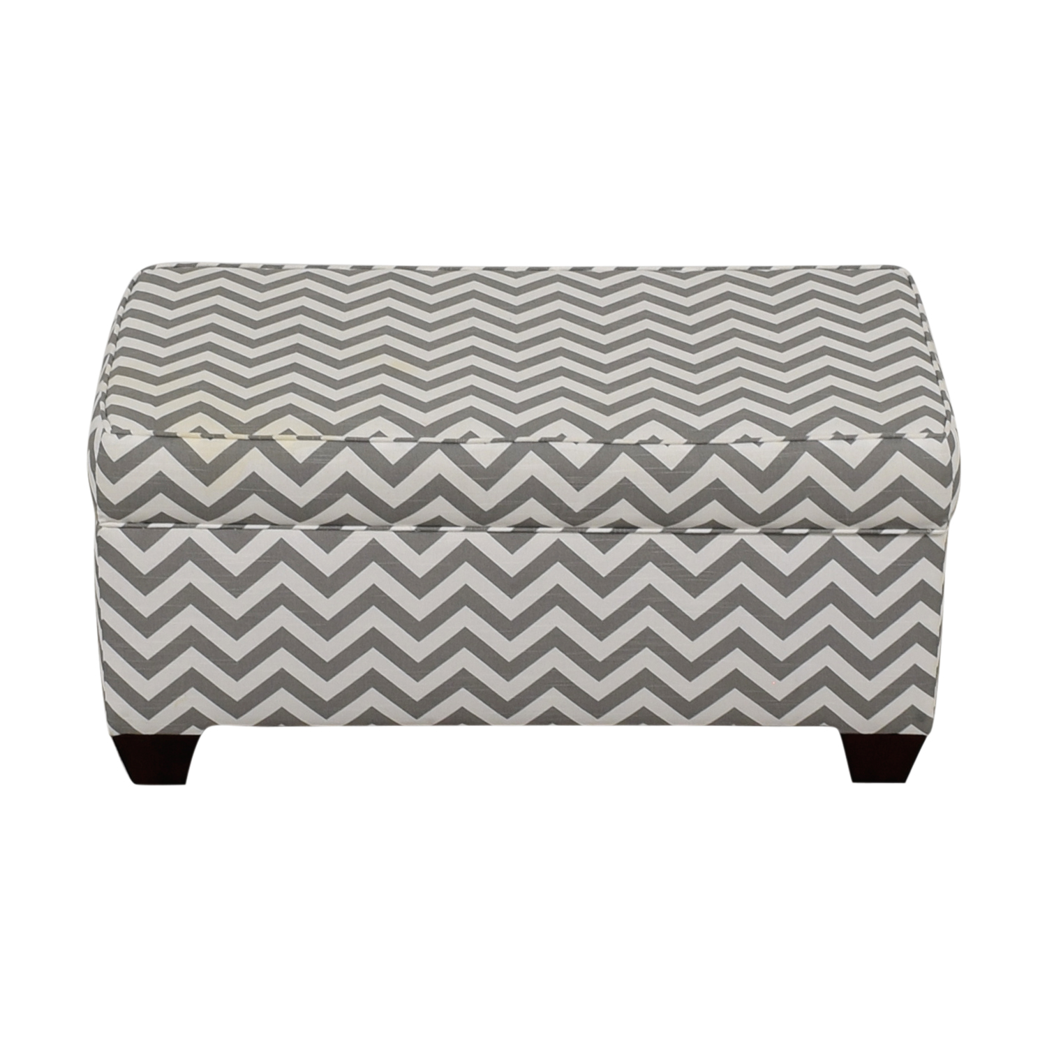 Target Target Grey and White Storage Bench or Ottoman for sale