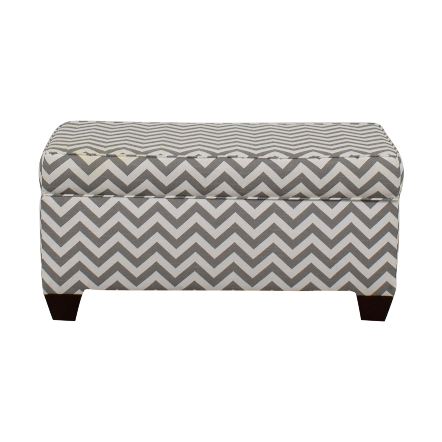 shop Target Grey and White Storage Bench or Ottoman Target Storage