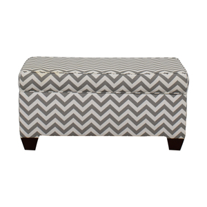 Target Target Grey and White Storage Bench or Ottoman discount