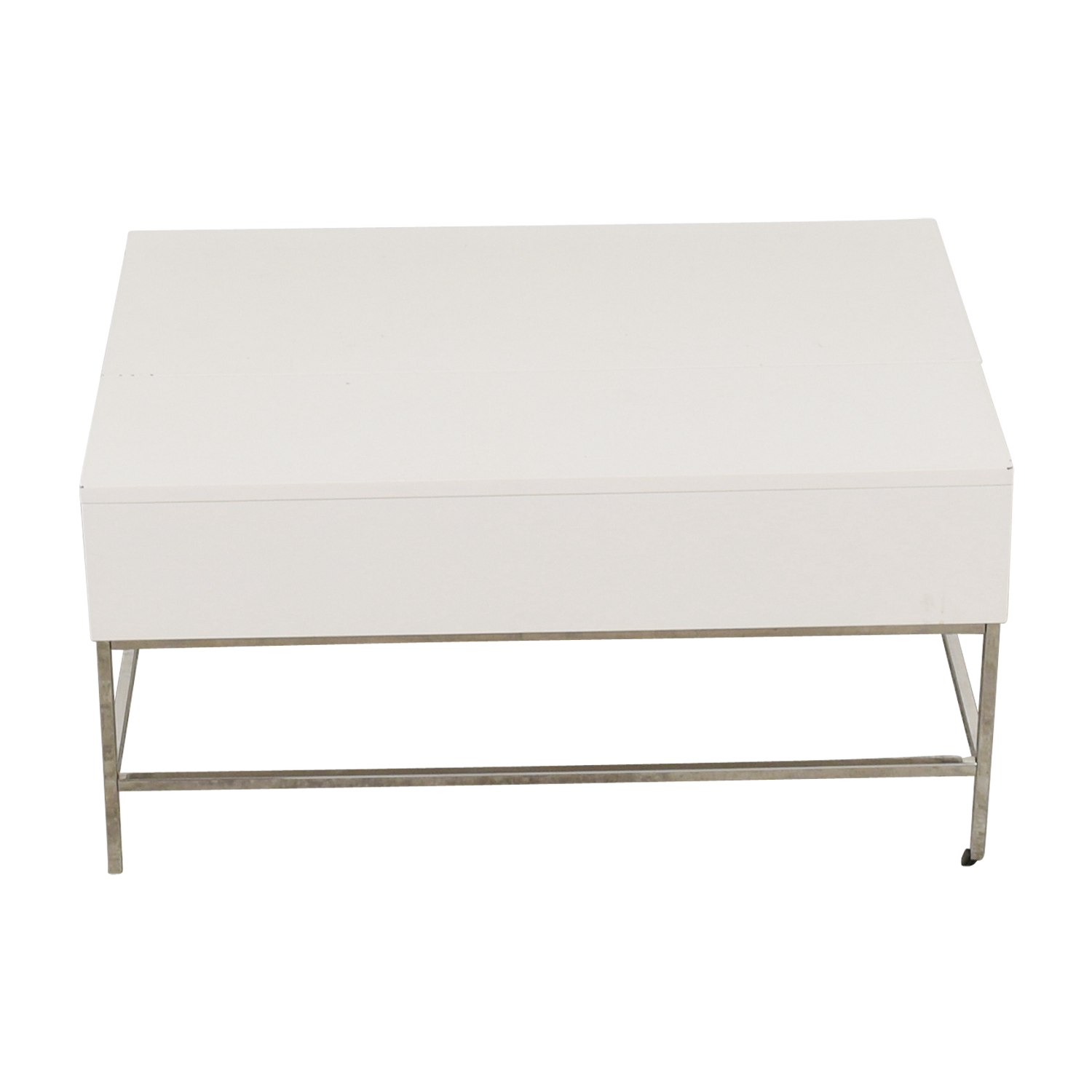 West Elm West Elm Lacquer Storage Coffee Table discount