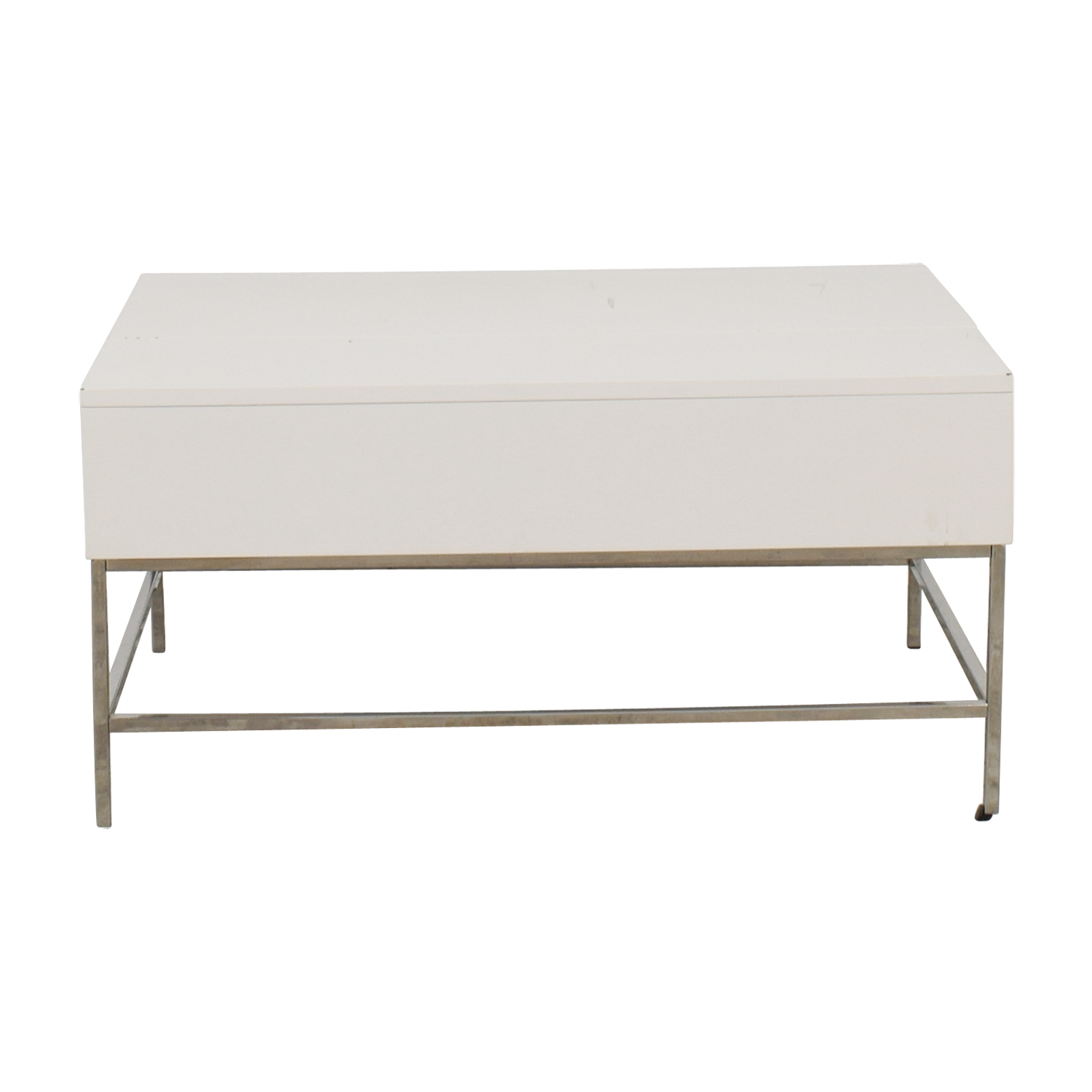 West Elm Lacquer Storage Coffee Table For