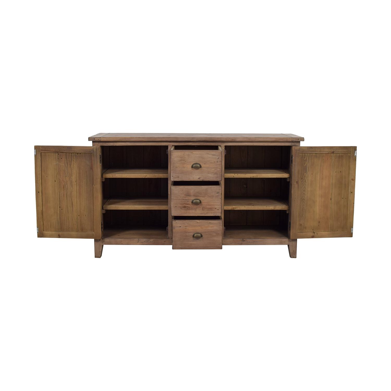 buy PGT Reclaimed PGT Reclaimed Wood Three-Drawer Sideboard online