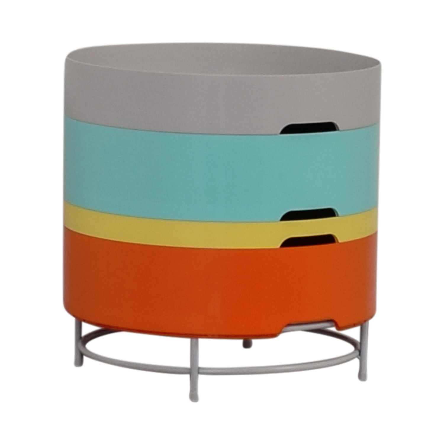 85 off ikea ikea ps 2014 multi colored round side. Black Bedroom Furniture Sets. Home Design Ideas