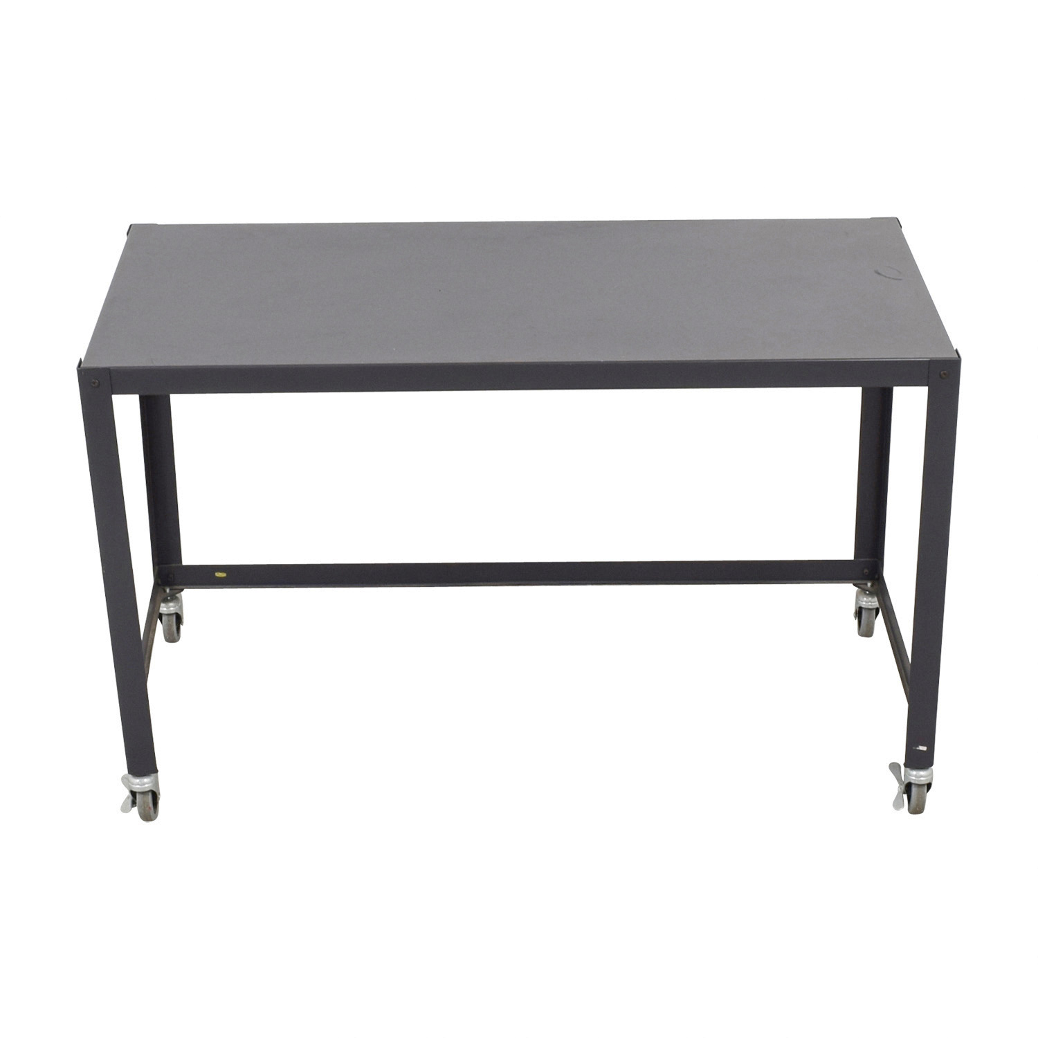CB2 CB2 Carbon Go Cart Desk on sale