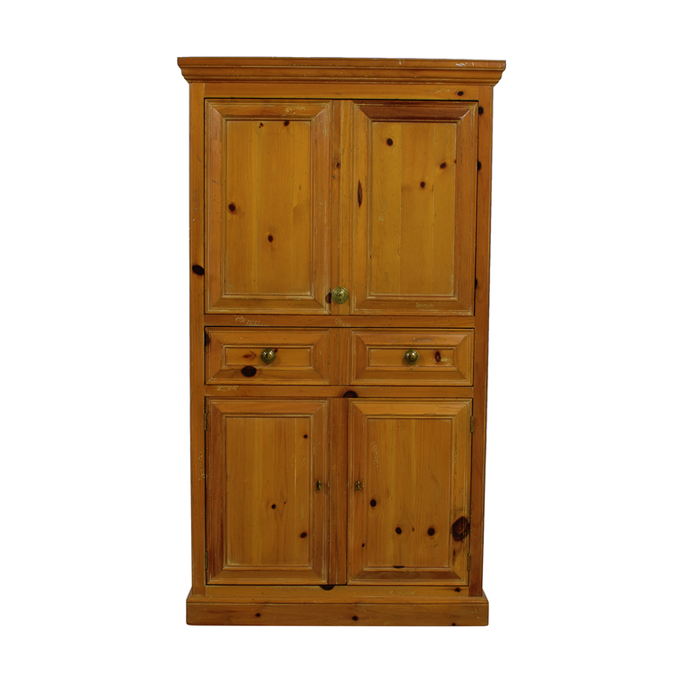 J.H.Harvey J.H.Harvey Antique Wood TV Armoire discount