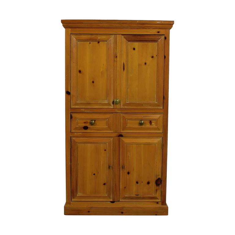 J.H.Harvey Antique Wood TV Armoire / Storage