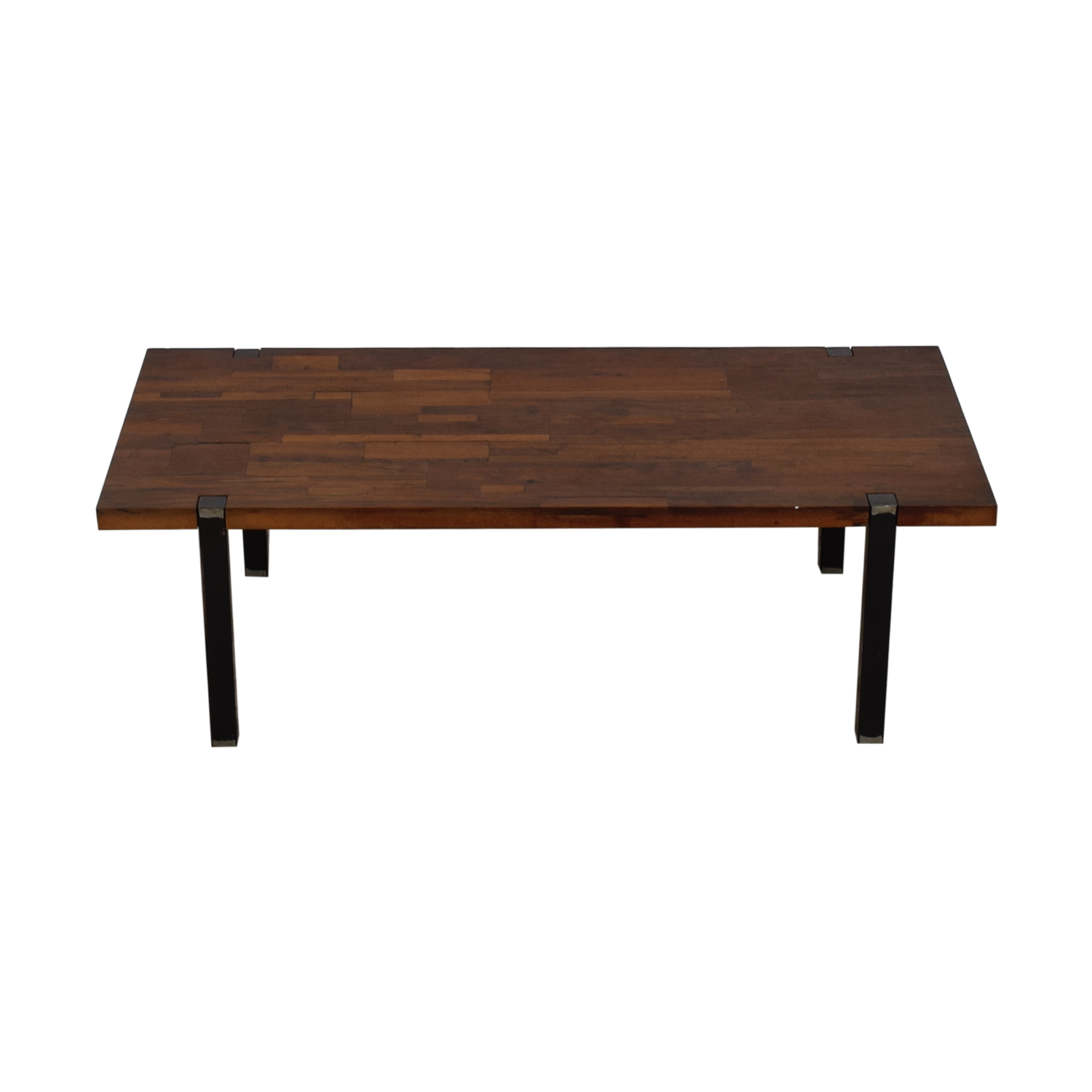 CB2 CB2 Reclaimed Railroad Wood Coffee Table for sale