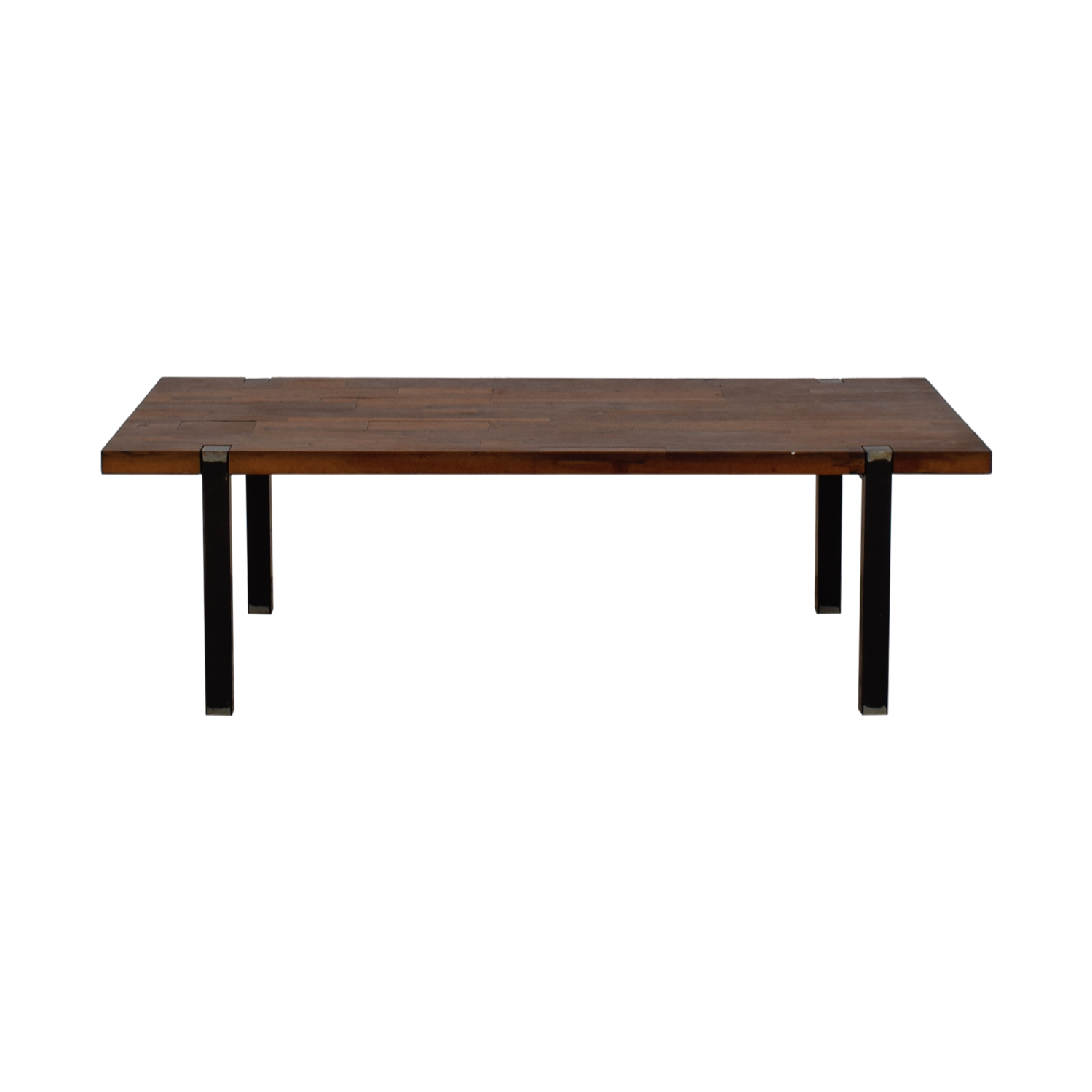 CB2 CB2 Reclaimed Railroad Wood Coffee Table nyc