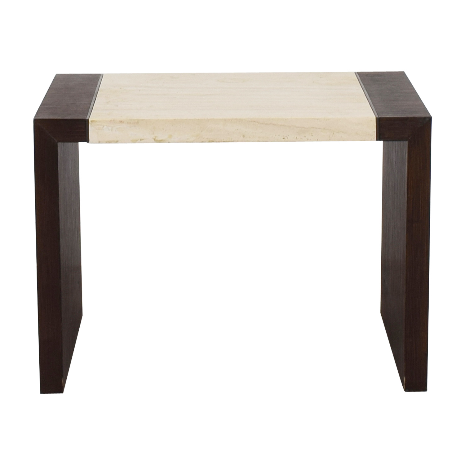 shop Calvin Klein Calvin Klein Wood and Stone End Table online