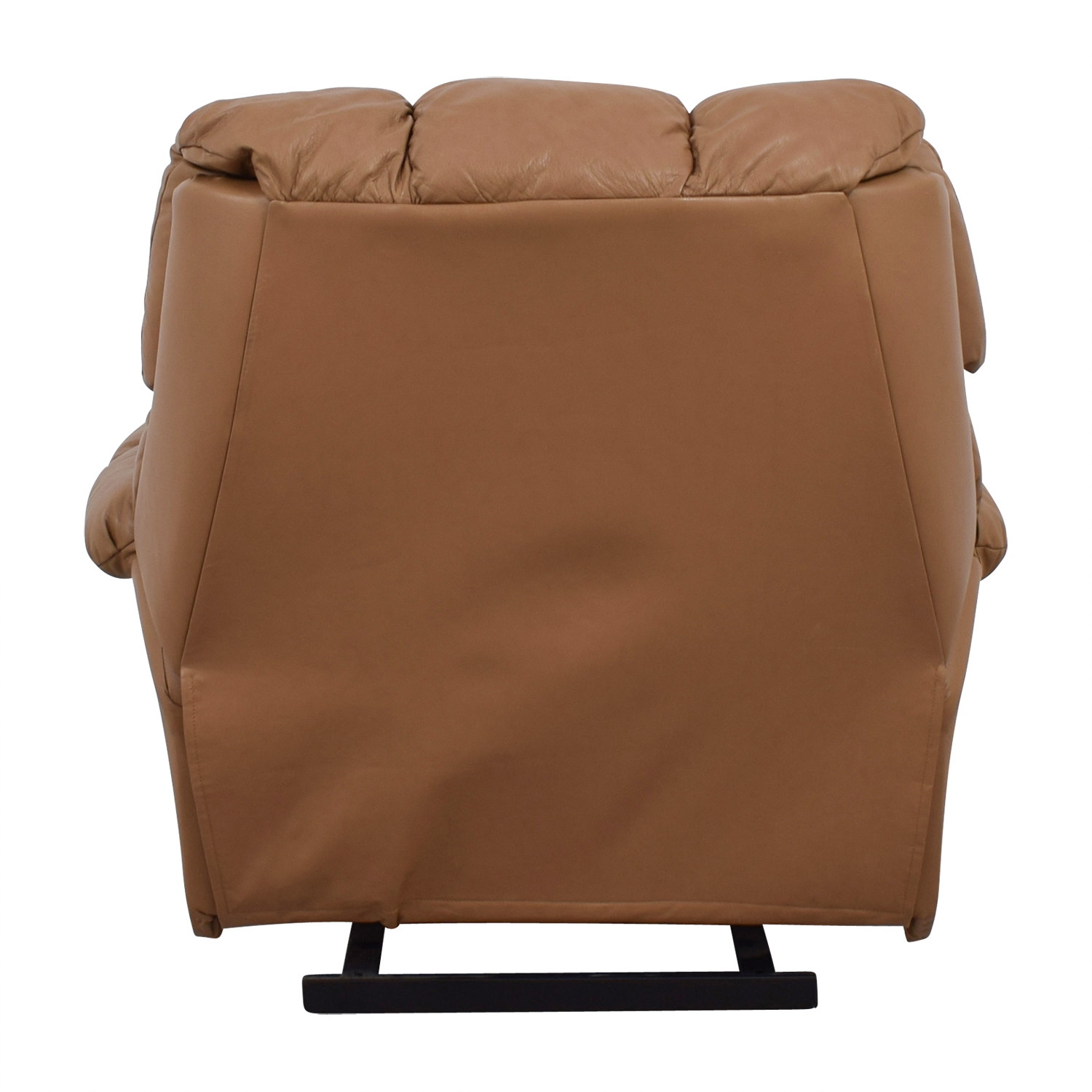 buy Tan Leather Reclining Chair