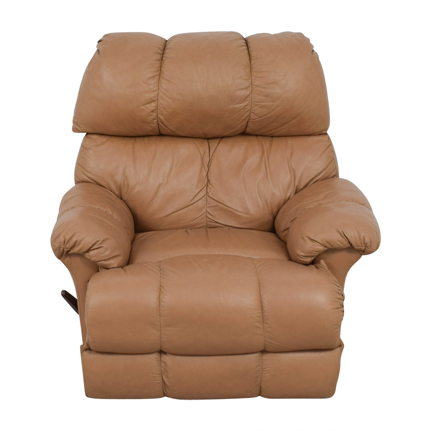 Charmant ... Tan Leather Reclining Chair Second Hand ...