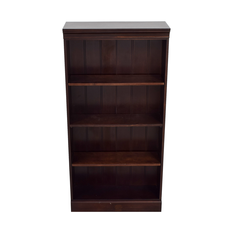 Raymour & Flanigan Raymour & Flanigan Dark Cherry Bookshelf dimensions