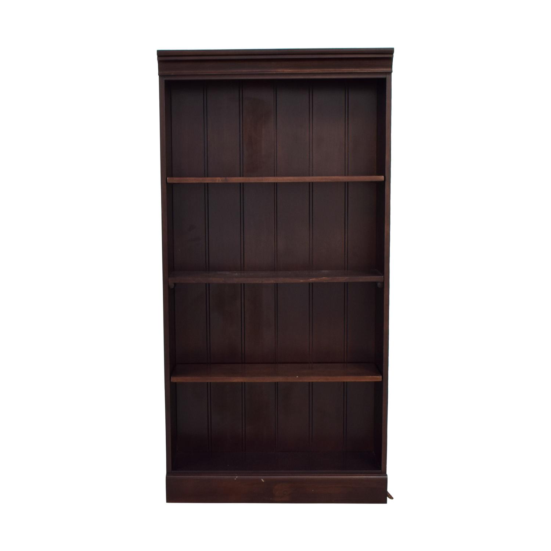 shop Raymour & Flanigan Dark Cherry Bookshelf Raymour & Flanigan Storage