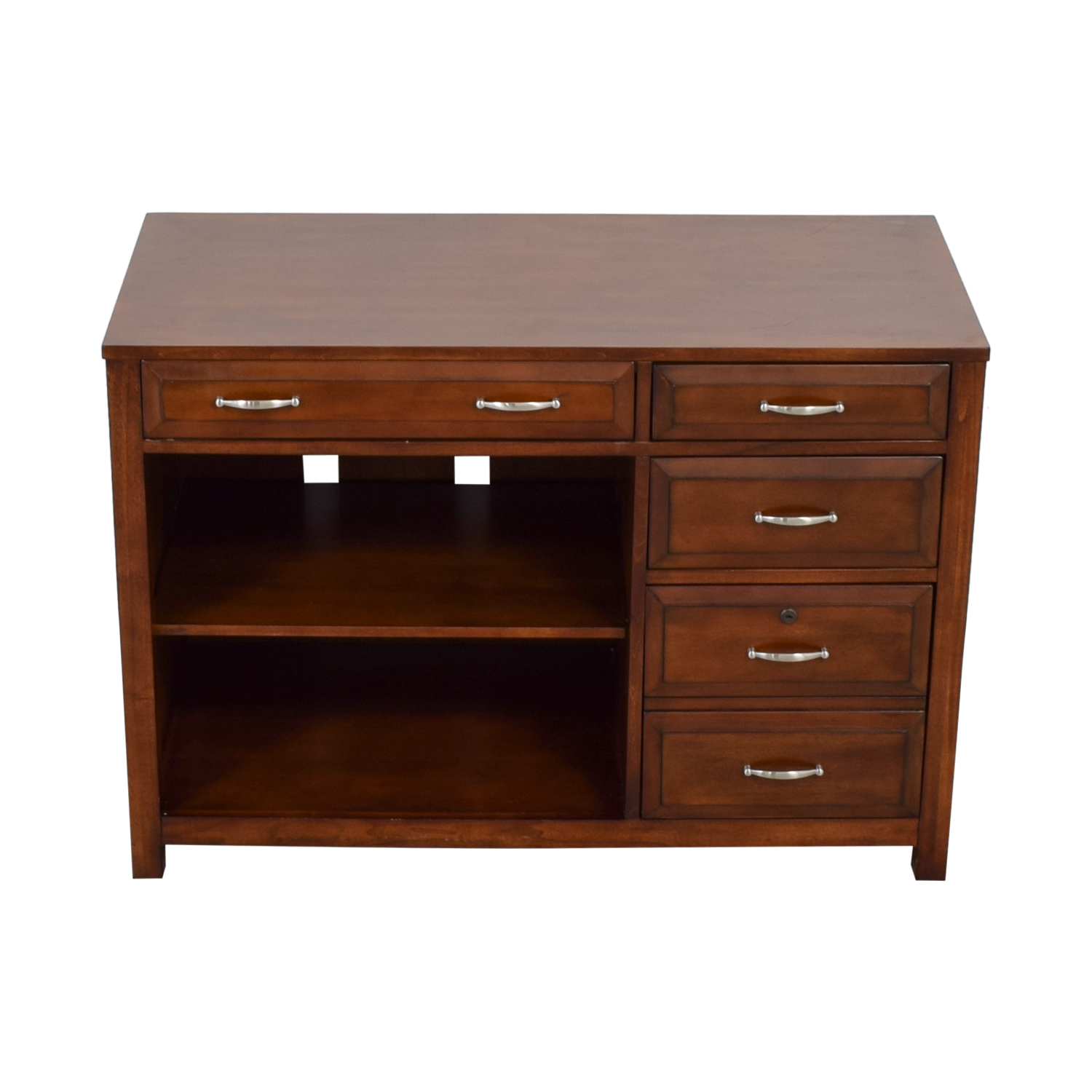 buy Liberty Furniture Three Drawer and Keyboard Tray Wood Desk Liberty Furniture