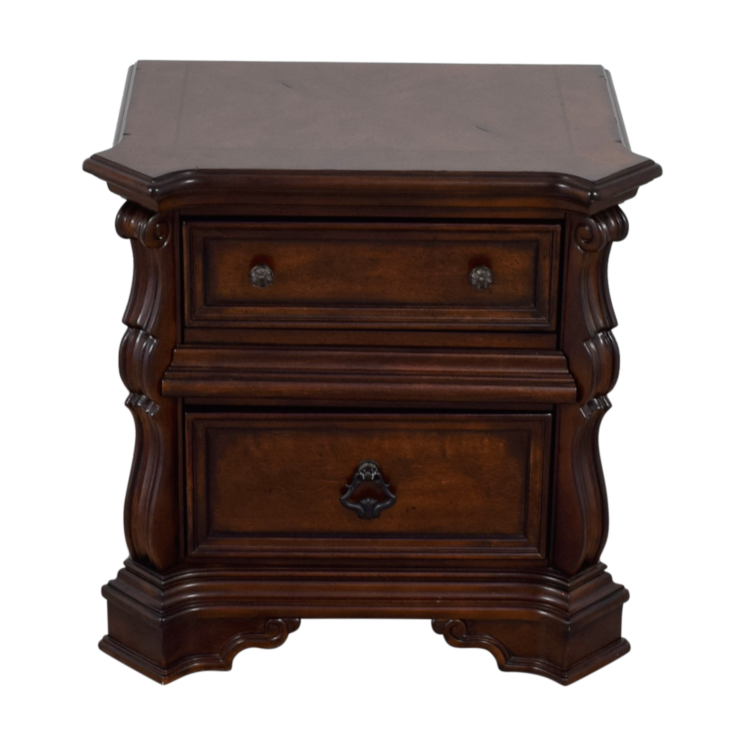 Liberty Furniture Liberty Furniture Two-Drawer Wood Nightstand End Tables