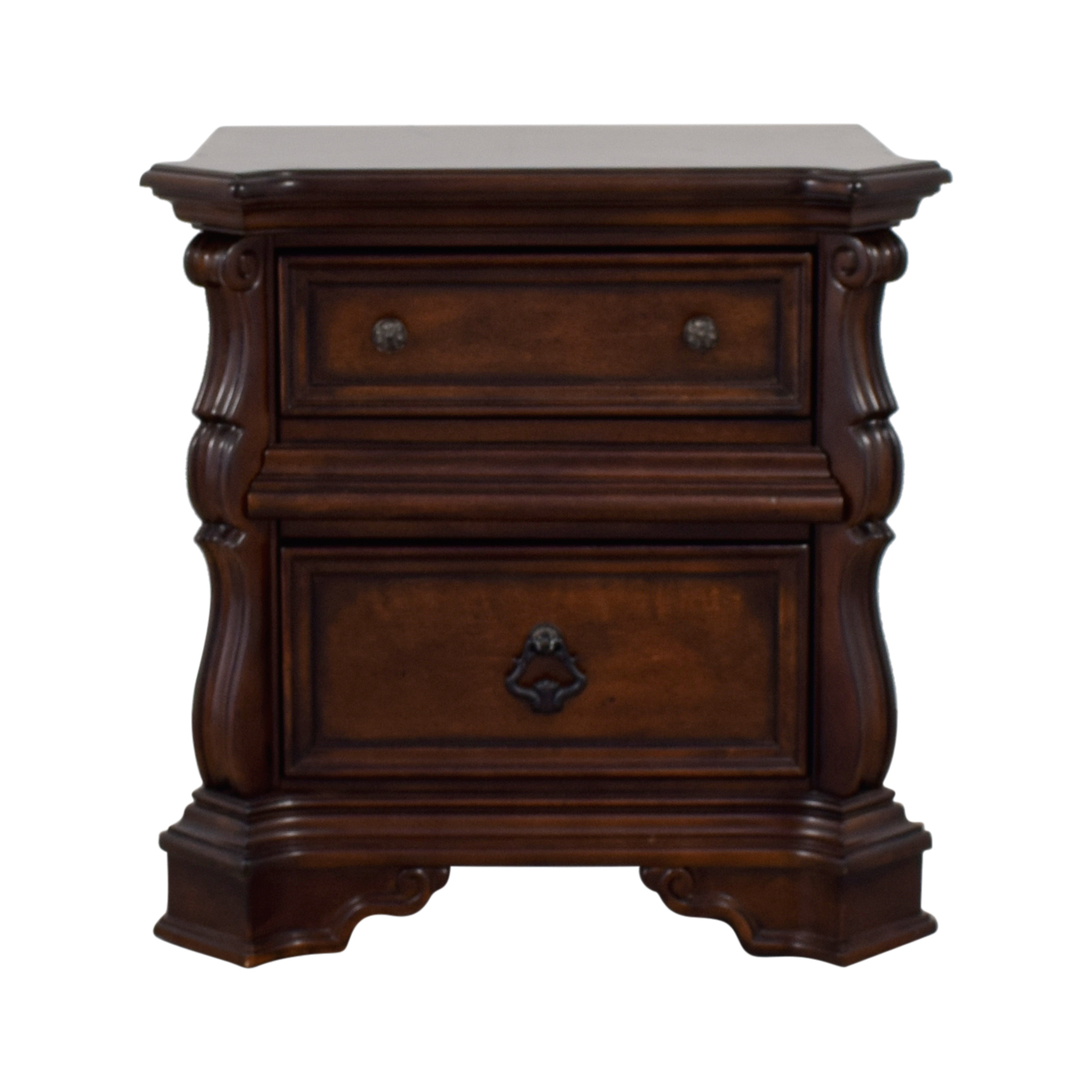 Liberty Furniture Two-Drawer Wood Nightstand / Tables