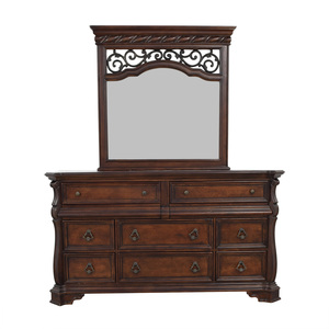 Liberty Furniture Liberty Furniture Eight Drawer Dresser with Scrolled Mirror coupon