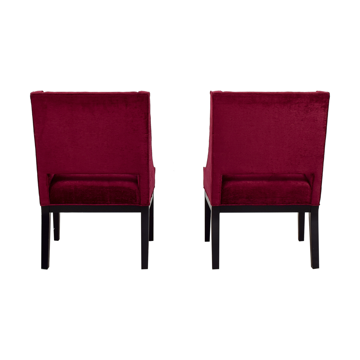 Modern Interiors Pink Upholstered Accent Chairs / Accent Chairs