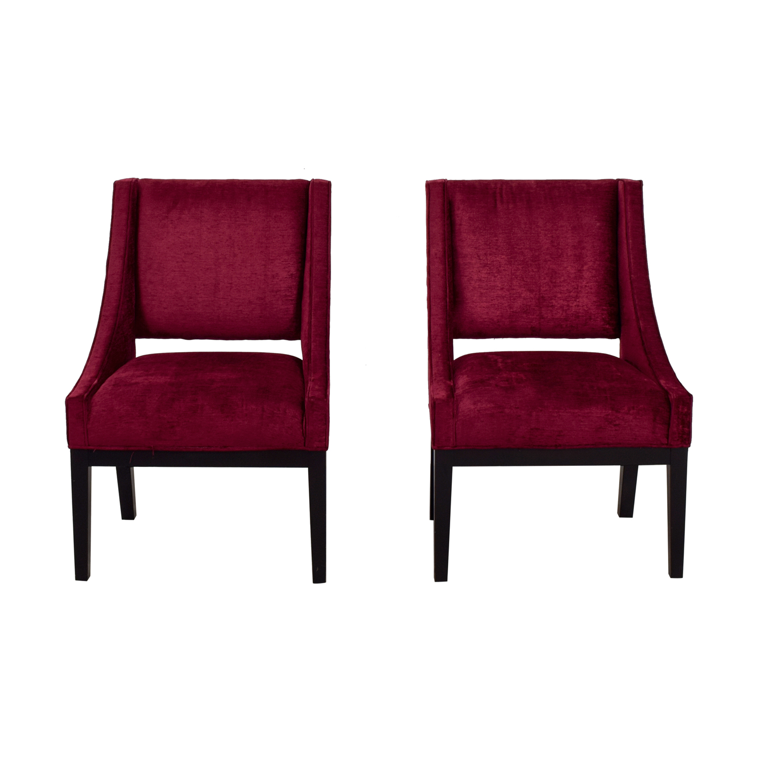 Modern Interiors Modern Interiors Pink Upholstered Accent Chairs discount