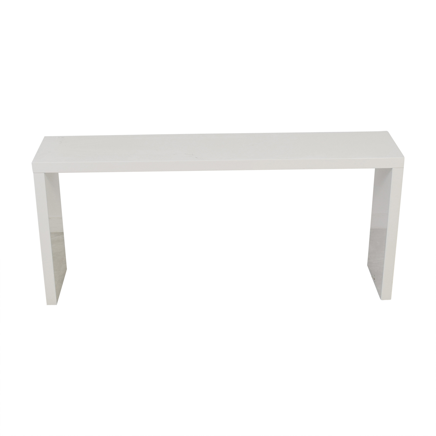 CB2 White Dining Server CB2