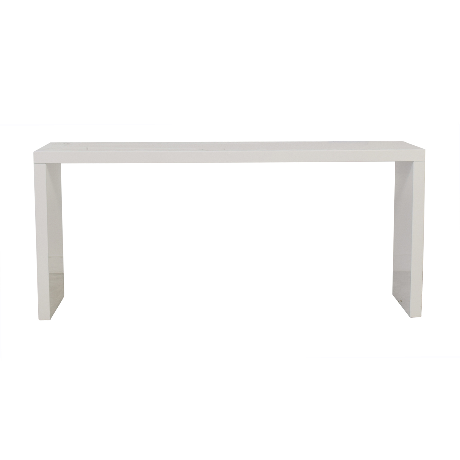 CB2 White Dining Server / Tables