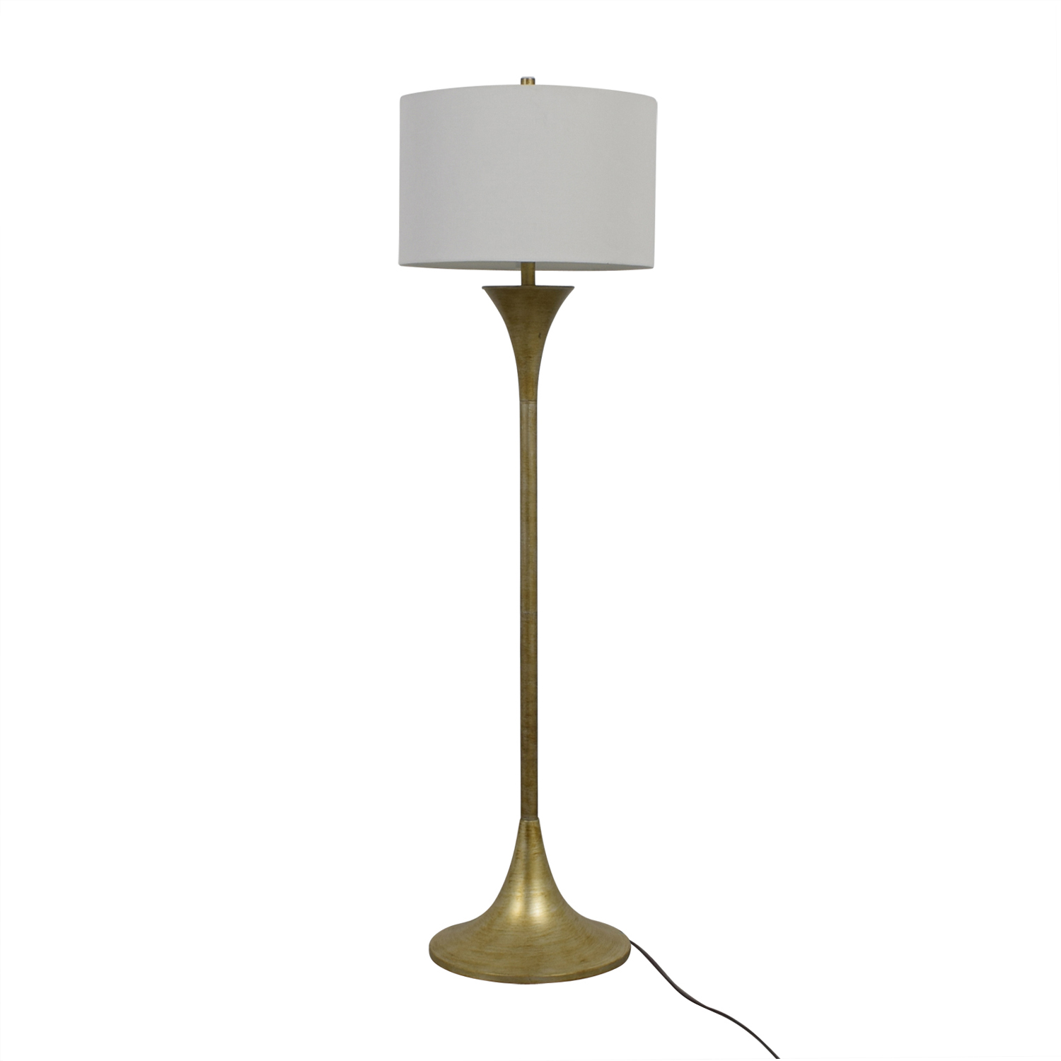 buy Signature Design by Ashley Joakim Brass Floor lamp Signature Design by Ashley