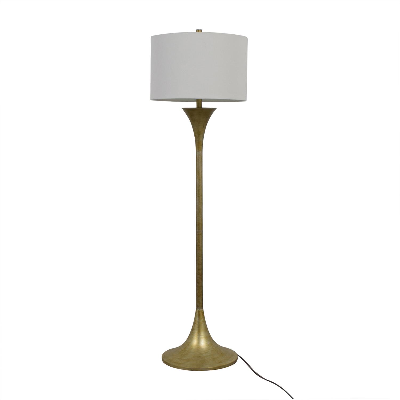 buy Signature Design by Ashley Joakim Brass Floor lamp Signature Design by Ashley