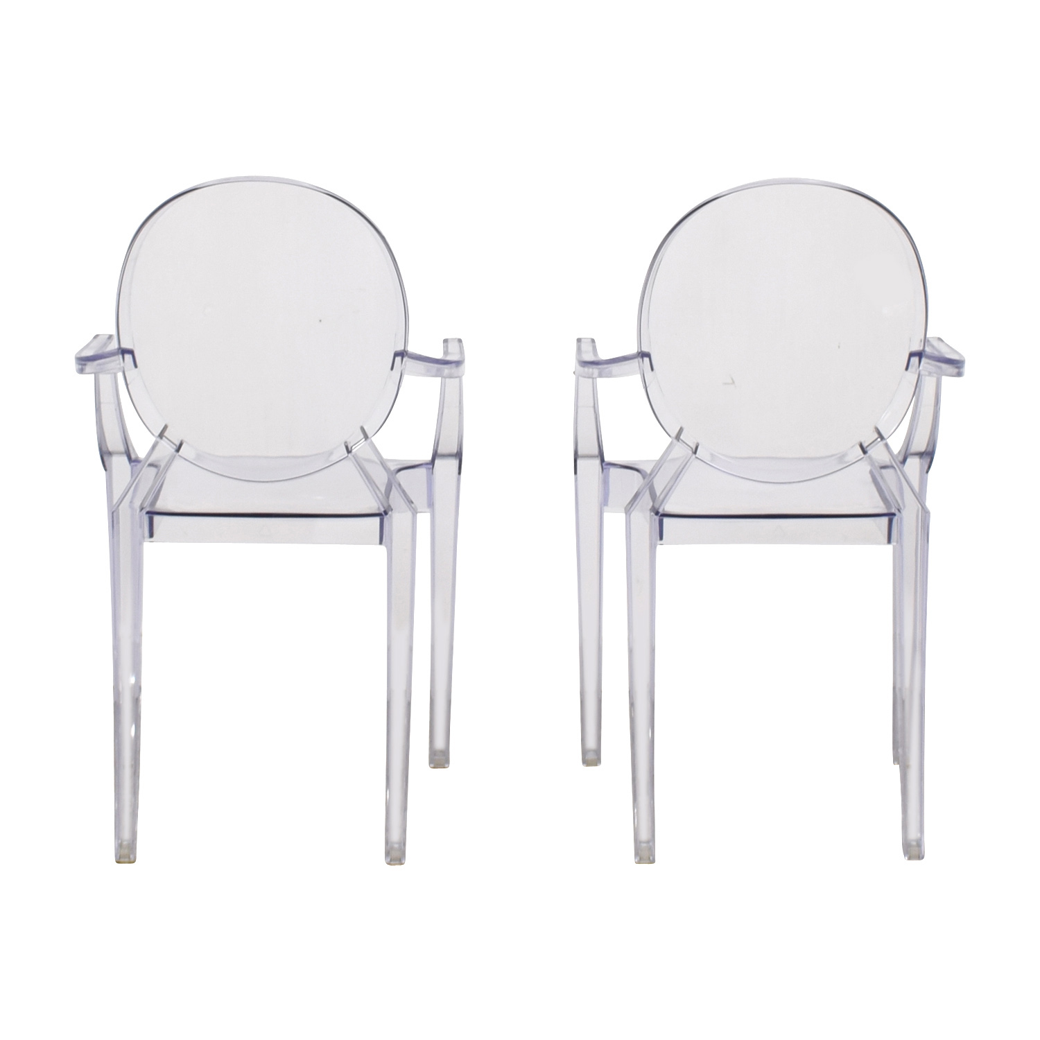 CB2 CB2 Acrylic Chairs