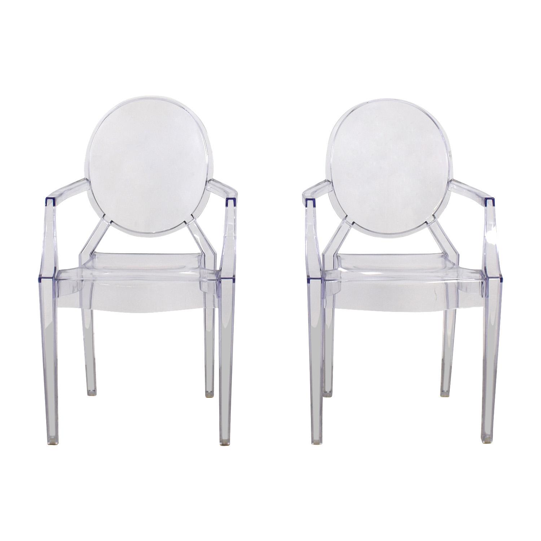 CB2 CB2 Acrylic Chairs price